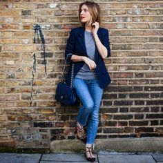 Wearing It Today: The navy blazer
