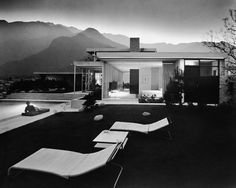 Kaufmann House, Palm Springs, 1947  Richard Neutra, Architect