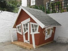 Crooked House Playhouse Plans