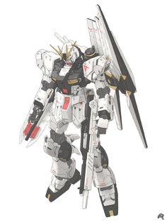 v Gundam by Mousanjiq on DeviantArt Art Gundam, Gundam Wing, Custom Gundam, Gunpla Custom, Anime Couples Manga, Cute Anime Couples, Anime Girls, Robot Cartoon, Gundam Wallpapers