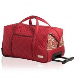 The carry-on rolly is one of cinda b's most popular products. Here it is in the new Amore pattern! Contact me, Heather (hbh416), to find out how to get 20% off and FREE shipping at cindab.com!