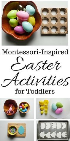 Montessori-Inspired Easter Activities for Toddlers #montessori #toddleractivities #montessoriactivities #easteractivities #easter