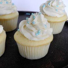 Vanilla frijol bizcochos de boda