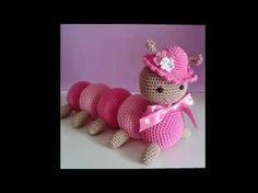 Animalitos tejidos a crochet con puntadas perfecta - YouTube