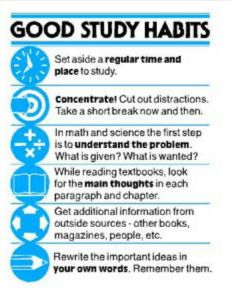 Good Study Habits - So simple, but I still need a reminder. no more cramming this semester! In order to deliver the highest possible quality, we hire only the most skilled and experienced writers. Life Hacks For School, School Study Tips, School Tips, Berkeley College, Good Study Habits, Study Techniques, Study Help, How To Study, Study Inspiration