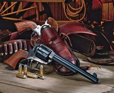 Why The Single-Action Revolver Is Timeless - Shooting Times Colt Single Action Army, Single Action Revolvers, Cowboy Action Shooting, Shooting Guns, Weapons Guns, Guns And Ammo, Ruger Revolver, Western Holsters, Lever Action Rifles