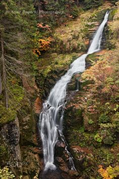 Kamienczyk Waterfall in Karkonosze Mountains - Kamienczyk waterfall (Polish…