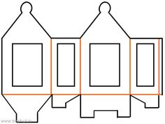 Diwali Paper lantern template - TreeHut.in