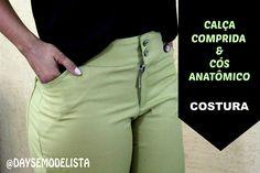 COSTURA - Calça Comprida e Cós Anatômic   ETAPA DA COSTURA DA CALÇA