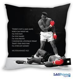 mohammed ali pictures | Muhammad Ali Quote #6' Cushion