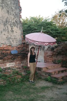 Me under the thai umbrella (Ja pod thajským dáždnikom), Ayutthaya