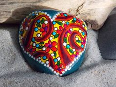 Fairytale+Love+/+Painted+Rock+/+Sandi+Pike+by+LoveFromCapeCod,+$30.00