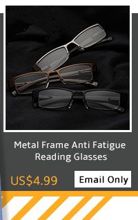 Metal Frame Anti Fatigue Reading Glasses