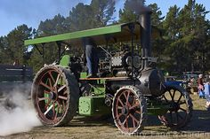 A recently restored 1912 Aveling and Porter 8 NHP compound traction engine.