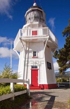 Akaroa Head Light, Akaroa Canterbury region of the South Island New Zealand [: Patrick Vincent]