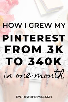 Need help with your Pinterest strategy? Follow these 7 Pinterest marketing strategies to drive more traffic and clicks to your blog posts. See how we grew our Pinterest from 3k to 340k monthly viewers in 1 month and see how we created our first viral Pin.#everyfurthermile #pinterestmarketing #pintereststrategy Make Money From Home, Way To Make Money, Make Money Online, Get More Followers, One Month, Instagram Influencer, Free Tips, Pinterest For Business, Creating A Blog