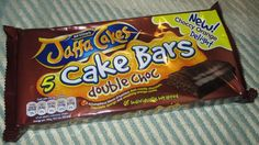 FOODSTUFF FINDS: Jaffa Cake - Cake Bars - Double Choc (Tesco) [By @Cinabar]