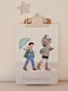 Image of Novembre ! (carte XL)