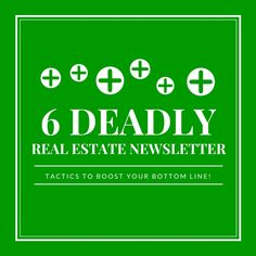 free real estate newsletter tips, templates, and examples