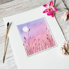 You are in the right place about Easy galaxy painting step by step Here we off. - Galaxy Painting - Step By Step Acrylic Painting Tutorial Diy Art Painting, Small Canvas Art, Pastel Art, Art Drawings, Simple Canvas Paintings, Nature Art Painting, Amazing Art Painting, Painting Art Projects, Canvas Art Painting