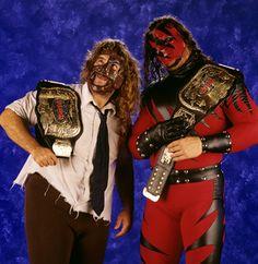 Mick Foley and Kane.