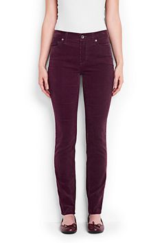 Slim Fit Cord-Jeans für Damen