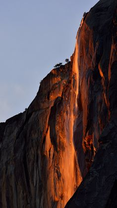 ~~Firefall | Magical light falls upon Horsetail Falls in Yosemite National Park, California | by Marc Briggs~~