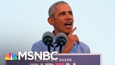 Obama Says He 'Literally' Left A 'Pandemic Playbook' For Trump That He Didn't Follow | MSNBC - YouTube Trump Debate, Strange Things Are Happening, Biden Trump, Trump Face, Early Voting, Cnn Politics, Former President, Barack Obama, Donald Trump