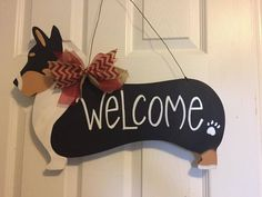 Ideas dogs mom decor for 2019 Dachshund Art, Dachshund Gifts, Dog Training School, Dog Wreath, Pet Door, Wood Dog, Pallet Painting, Border Terrier, Dog Signs