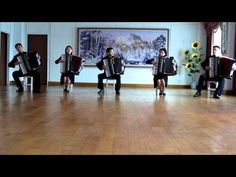 A-ha's Take On Me Covered by North Korean Accordion-Playing Students