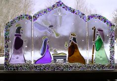 Fused+Glass+Nativity+by+NorthwindStudio.deviantart.com+on+@DeviantArt
