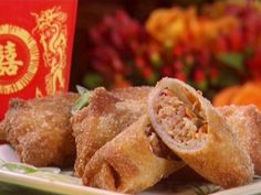 Chinese Pork Egg Rolls Recipe | Pork-Slaw Egg Rolls Recipe : Paula Deen : Recipes : Food Network