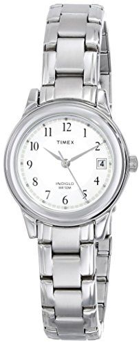 Timex Women's Elevated Classics Dress Sport Chic Silver-Tone Bracelet Watch Classically styled and updated with the latest Timex timekeeping technology, Stainless Steel Bracelet, Stainless Steel Case, Timex Watches, Wrist Watches, Ladies Watches, Sport Watches, Thing 1, Amazing Watches, Sport Chic