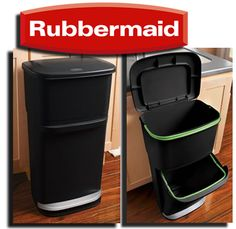 MamaNYC Giveaway: WIN Rubbermaid 2-in-1 Recycler! Organize and sort your recyclables easily and effortlessly! ($40 Value