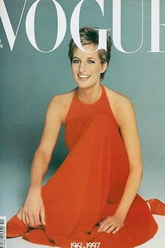 diana vogue- she really did evolve over time didn't she?