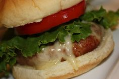 Greek Turkey Burgers - Absolutely delicious!