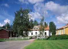 Kuddnäs, museum. Finland's national poet Zacharias Topelius childhood home. Ostrobothnia province of Western Finland.- Uusikaarlepyy, Pohjanmaa