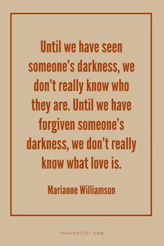 Great quote! #mariannewilliamson