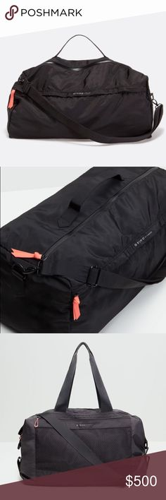 "ISO OYSHO Gym Bags! Searching for either of the ""soft gym bag"" or ""technical studio gym bag"". Desperately wanting one of these! 🙏🏽🙏🏽🙏🏽 Oysho Bags Travel Bags"