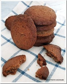 Cookies, Sans Gluten, Chocolate, Desserts, Food, Stuffed Cookies, Recipe, Crack Crackers, Tailgate Desserts