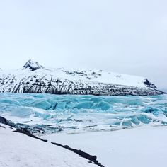 Go to iceland and see some glaciers 😍