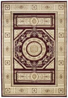 "United Weavers Contours Camryn Burgundy Red Medallion Traditional Rug 2'7"" x 4'2"" (510-23734) by United Weavers. $145.00. 2'7"" x 4'2"". Synthetic (olefin/polypropylene). Contours. Traditional / Oriental. Made in Turkey. 3D effect around patterns created by hand carving technique used around the pattern. Free flowing pile is from 100 % heat set olefin."