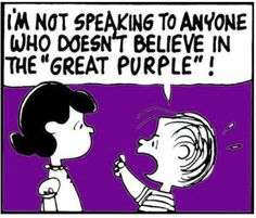 "The ""Great Purple"" Charlie Brown"