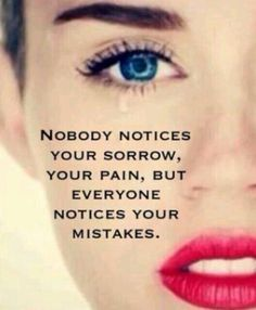 And that's ok. We all make mistakes do we not I mean I know I'm not perfect but only the people that want to be in your life notice some of these things even if u don't know it.