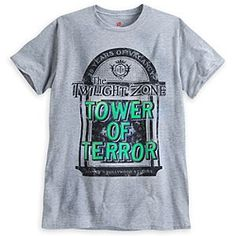 Disney The Twilight Zone Tower of Terror Tee for Adults - 20th Anniversary - Limited Availability | Disney StoreThe Twilight Zone Tower of Terror Tee for Adults - 20th Anniversary Available until 7/27/2014