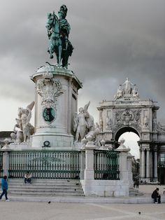 Lisboa, Portugal Praça do Comércio