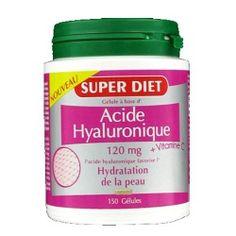 Pour être la plus belle à la rentrée, le reflexe #acidehyaluronique au coucher avec la qualité française #SUPERDIET.