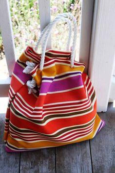 DIY Beach Bag! Here are 15 awesome DIY beach bags