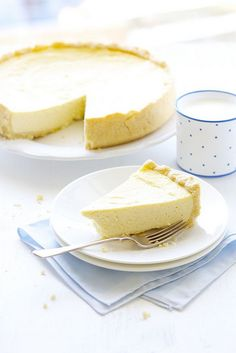 Good old-fashioned classic cheesecake. Yum!