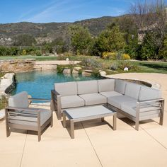 Found it at Wayfair - Carlsbad 5 Pieces Seating Group with Cushion